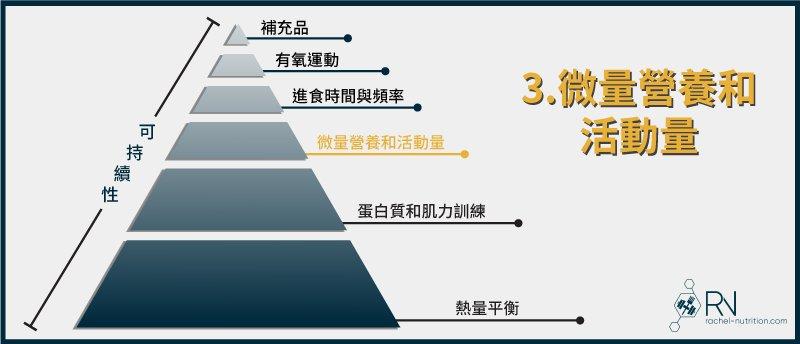 減脂金字塔:微量營養