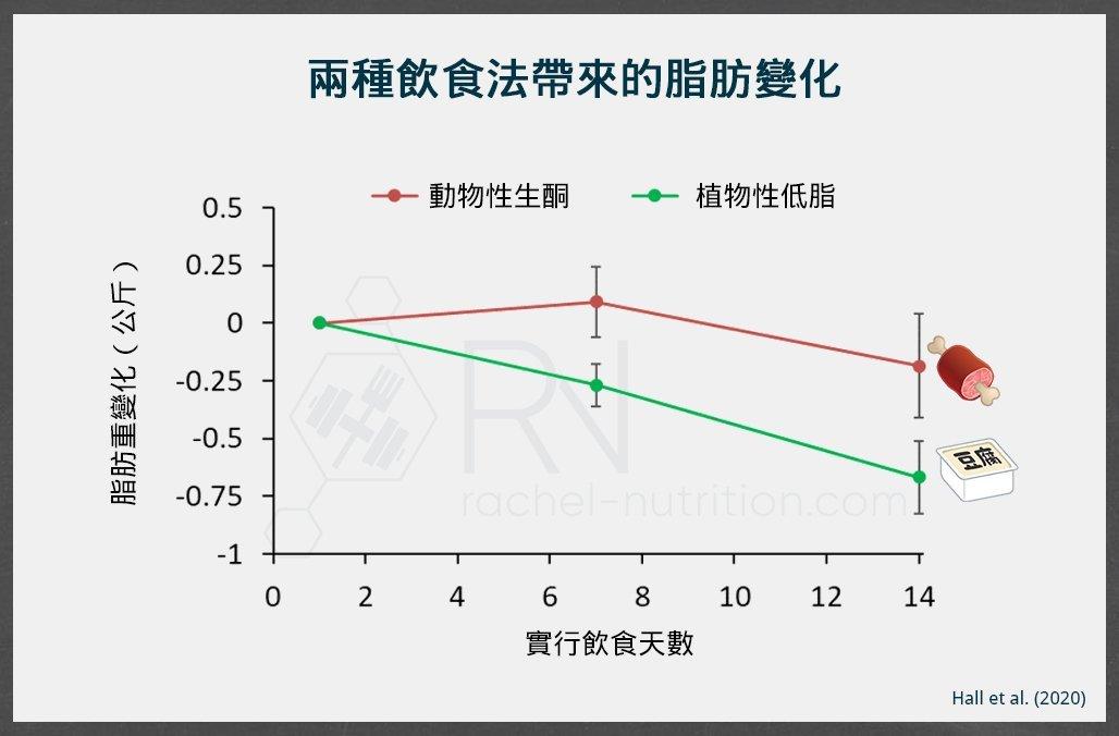 生酮低脂的脂肪變化